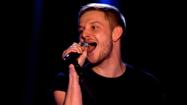 Paul Carden performs on The Voice 2013