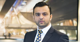Zeeshaan Shah appears in The Apprentice 2013