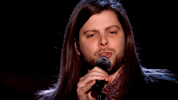 Adam Barron performs on The Voice 2013