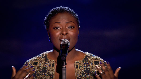 Adenike Adenaike performs on The Voice 2013