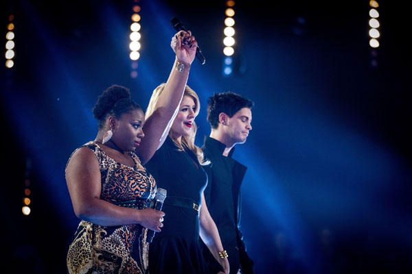 Battle - Letitia Grant Brown v  Alex Buchanan (Team Jessie) The Voice 2013