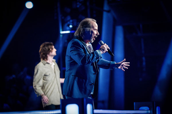 Battle - Ragsy v Colin Chisholm (Team Tom) The Voice 2013