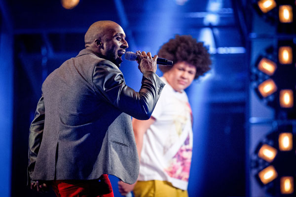 Battle - Trevor Francis v Lemuel Knights (Team Jessie) The Voice 2013