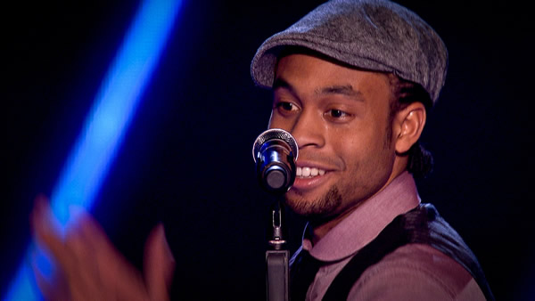 CJ Edwards performs on The Voice 2013