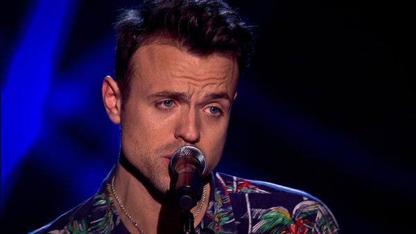 John Pritchard performs on The Voice 2013