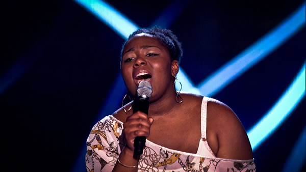 Letitia Grant Brown performs on The Voice 2013