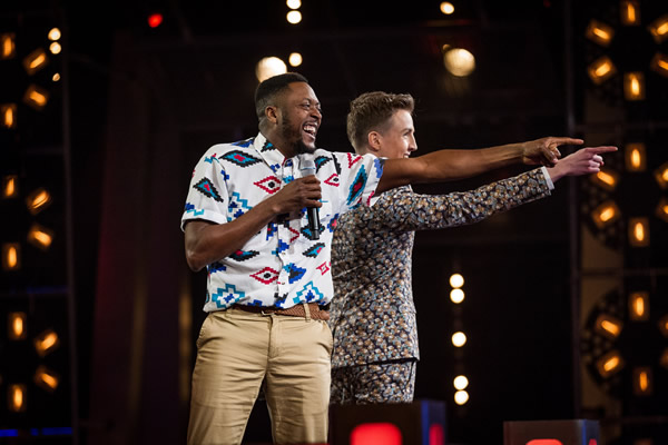 Matt Henry v Jordan Lee Davies in battle on The Voice in week 7