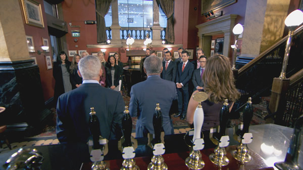 Nick Hewer, Lord Alan Sugar And Karren Brady Brief The Candidates In Episode 2 Of The Apprentice 2013