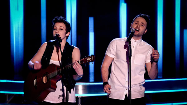 Rita Payne (Rhiannon Scutt + Pete Sowels) perform on The Voice 2013