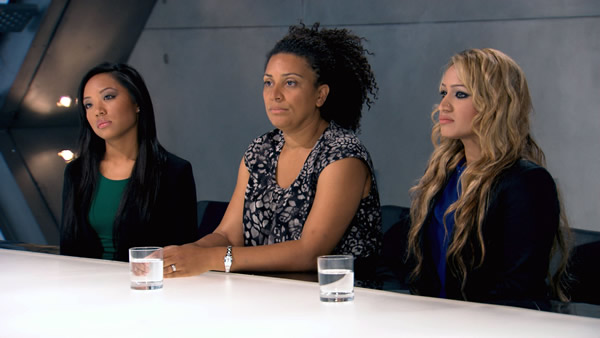 Sophie Lau, Jaz Ampaw-Farr, Uzma Yakoob Visit The Boardroom In Episode 1 Of The Apprentice 2013