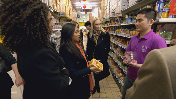 Jaz Ampaw-Farr, Sophie Lau, Francesca MacDuff-Varley Selling In Episode 1 Of The Apprentice 2013