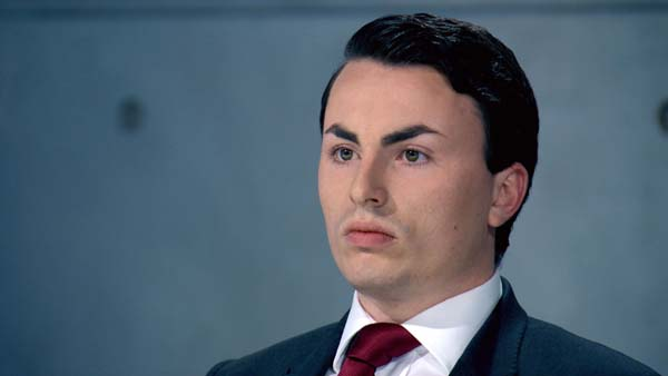 Alex Mills leaves The Apprentice in episode 9