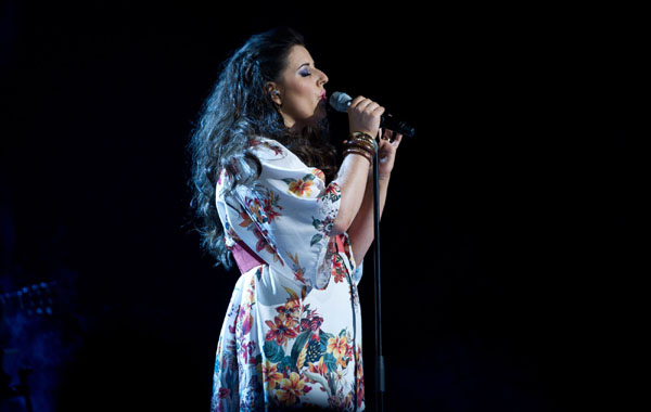 Alys Williams performs in the quarter finals of The Voice 2013