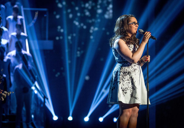 Andrea Begley performs her favourite song of the series in the final of The Voice