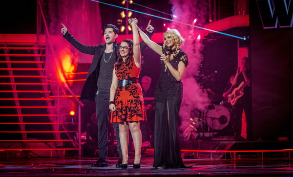 Andrea Begley wins The Voice Series 2