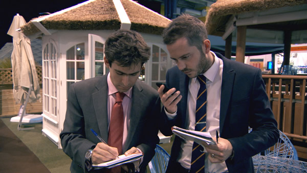 Jason Leech and Neil Clough in Episode 7 of The Apprentice 2013