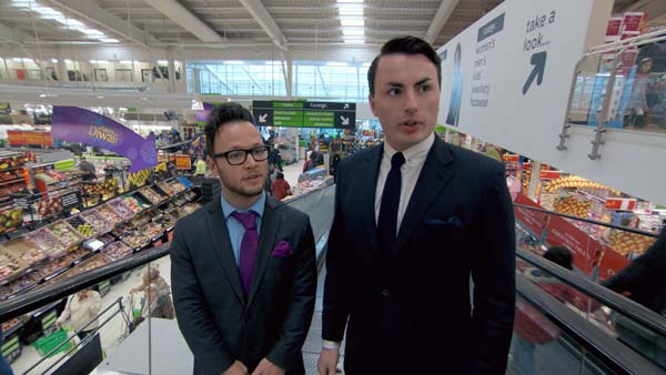 Jordan Poulton and Alex Mills in The Apprentice 2013 episode 9