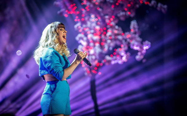 Leah McFall performs her favourite song of the series in the final of The Voice