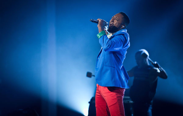 Matt Henry performs in the quarter finals of The Voice 2013