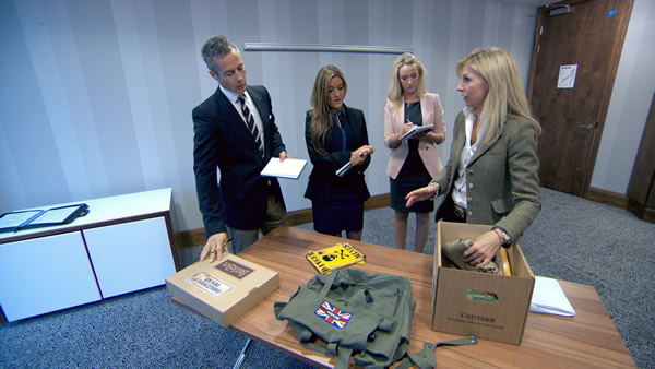 Myles Mordaunt, Natalie Panayi and Leah Totton in Episode 7 of The Apprentice 2013