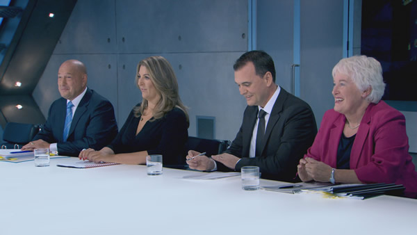 Claude Littner, Claudine Collins,Mike Suter And Margaret Mountford Were The Interviewers In Episode 11 Of The Apprentice 2013
