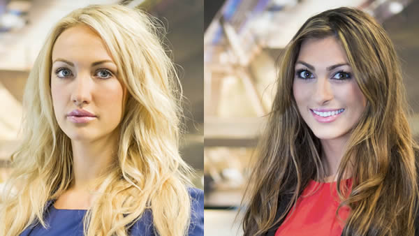 Leah Totton And Luisa Zissman Are The Finalists In The Apprentice 2013