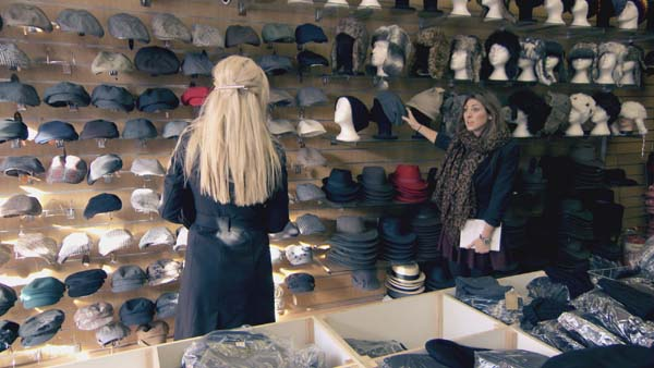 Leah Totton And Luisa Zissman Selecting Products To Sell In Episode 10 Of The Apprentice 2013