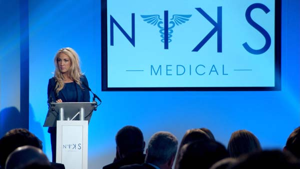 Leah Totton Presents Her NIKS Brand - The Apprentice Final 2013