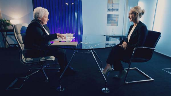 Margaret Mountford Interviews Leah Totton In Episode 11 Of The Apprentice 2013