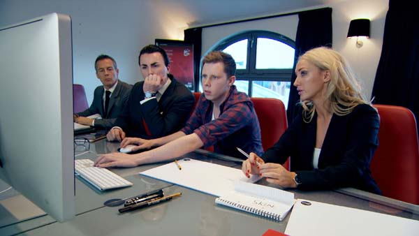Myles Mordaunt And Alex Mills Support Leah Totton In The Apprentice Final 2013
