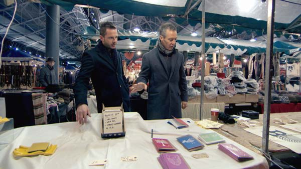 Neil Clough And  Myles Mordaunt Take To Their Market Stall In Episode 10 Of The Apprentice 2013