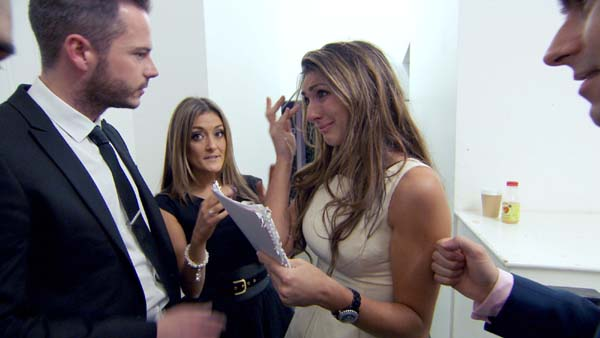 Neil Clough And Natalie Panayi Support Luisa Zissman In The Apprentice Final 2013
