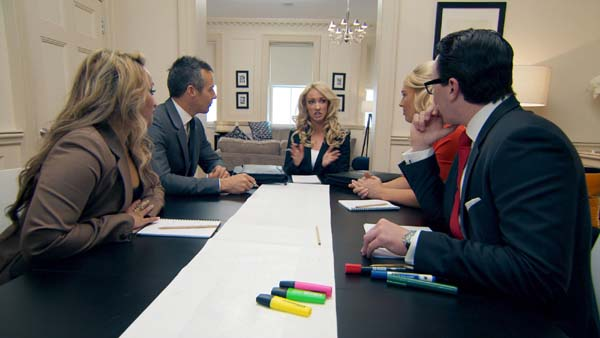 Uzma Yakoob, Myles Mordaunt, Francesca MacDuff-Varley And Alex Mills Support Leah Totton In The Apprentice Final 2013