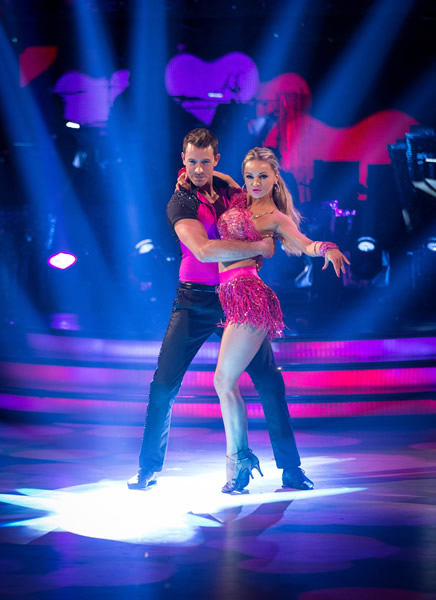 Ashley Taylor Dawson and Ola Jordan In Week 1 Of Strictly Come Dancing 2013