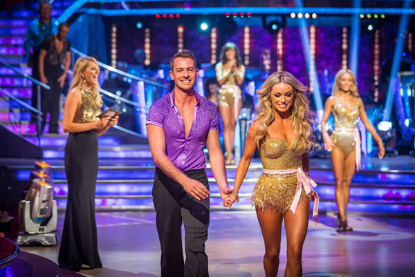 Ashley Taylor Dawson partners Ola Jordan in Strictly Come Dancing 2013