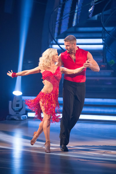 Ben Cohen And Kristina Rihanoff In Week 1 Of Strictly Come Dancing 2013