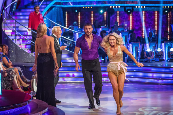 Ben Cohen partners Kristina Rihanoff in Strictly Come Dancing 2013