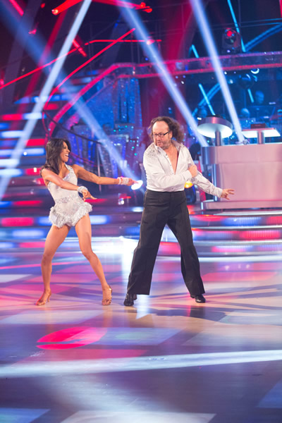 Dave Myers  And Karen Hauer In Week 1 Of Strictly Come Dancing 2013