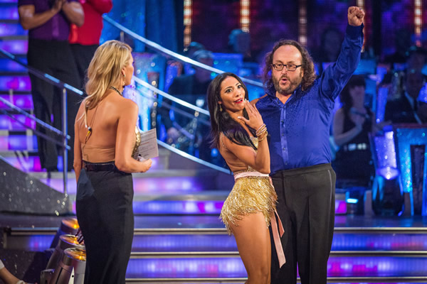 Dave Myers partners Karen Hauer in Strictly Come Dancing 2013
