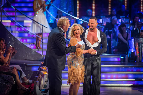 Deborah Meaden partners Robin Windsor in Strictly Come Dancing 2013