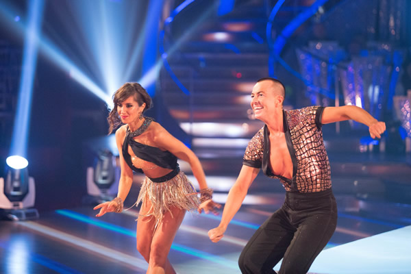 Julian Macdonald  and Janette Manrara In Week 1 Of Strictly Come Dancing 2013