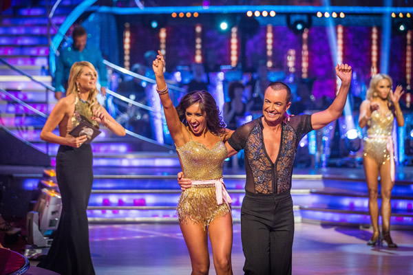 Julien Macdonald partners Janette Manrara in Strictly Come Dancing 2013