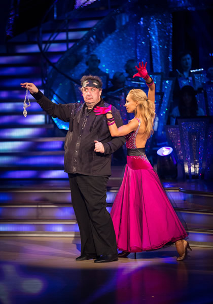 Mark Benton and Iveta Lukosiute In Week 1 Of Strictly Come Dancing 2013