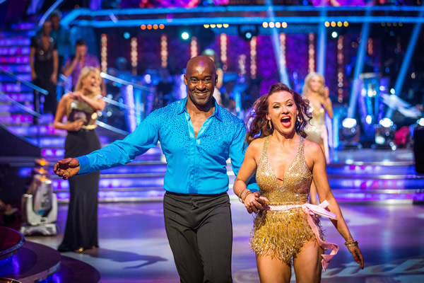 Patrick Robinson partners Anya Garnis in Strictly Come Dancing 2013