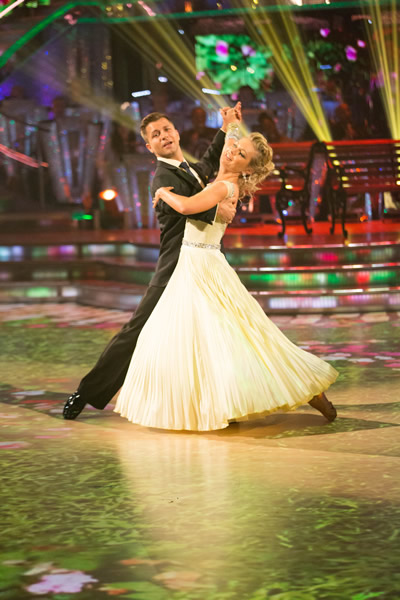 Rachel Riley And Pasha Kovalev In Week 1 Of Strictly Come Dancing 2013