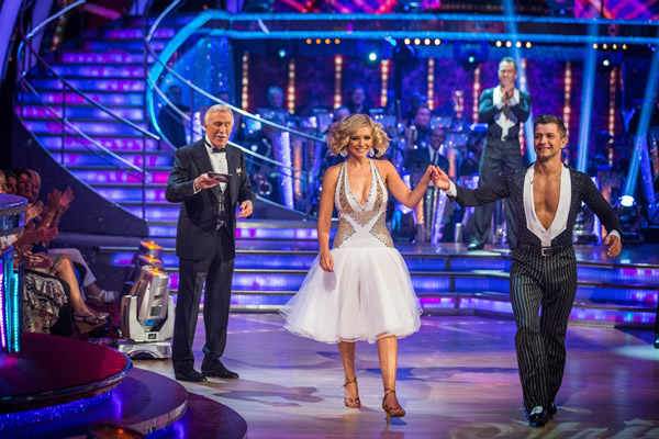 Rachel Riley partners Pasha Kovalev in Strictly Come Dancing 2013