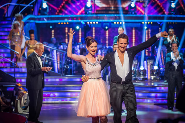 Sophie Ellis-Bexter partners Brendan Cole in Strictly Come Dancing 2013