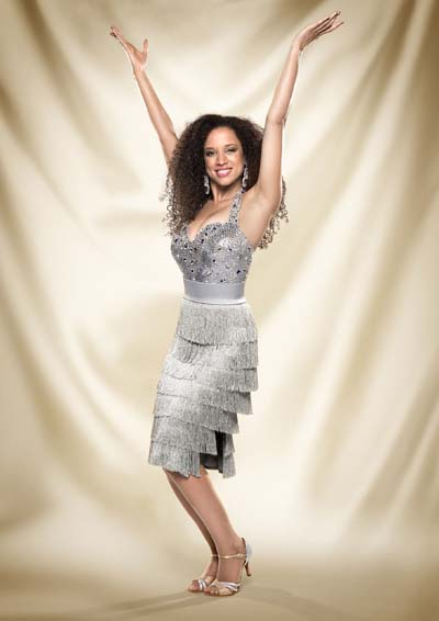 Natalie Gumede Strictly Come Dancing 2013