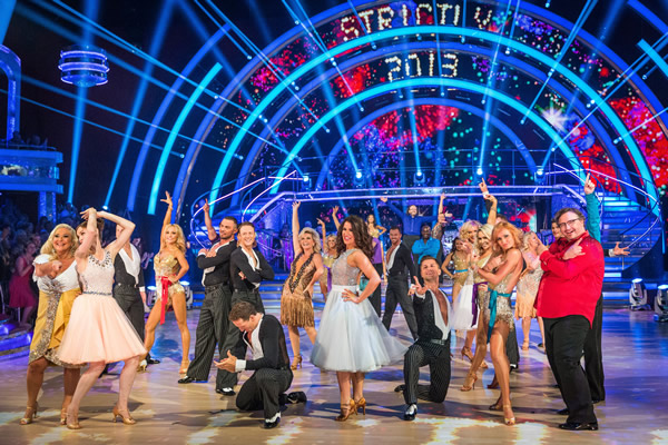 Strictly Come Dancing Line Up 2013