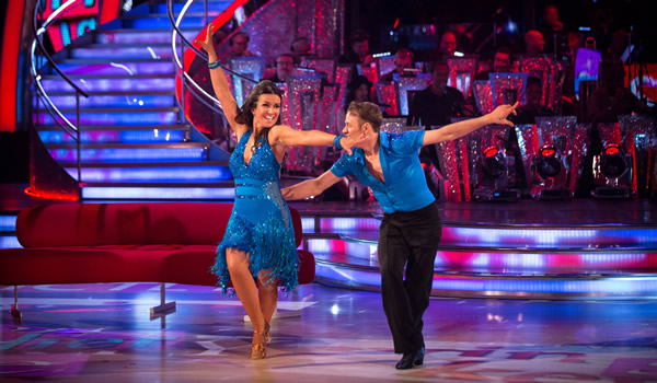 Susanna Reid and Kevin Clifton In Week 1 Of Strictly Come Dancing 2013